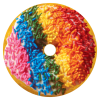 Picture of Rainbow Sprinkles Donut Scented Microbead Pillow