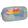 Picture of Dripping Heart Holographic Small Cosmetic Bag