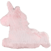 Picture of Rainbow Pink Unicorn Furry Pillow