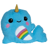 Picture of Rainbow Narwhal Scented Furry Pillow