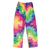 Picture of Rainbow Tie Dye Plush Pants