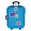 Picture of Luggage Embroidered Sticker Patch