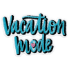 Picture of Vacation Mode Embroidered Sticker Patch