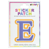 Picture of Epsilon Greek Letter Sticker Patch