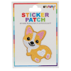 Picture of Corgi Embroidered Sticker Patch