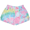 Picture of Swirl Tie Dye Plush Shorts