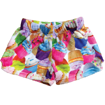 Picture of Cupcakes Plush Shorts
