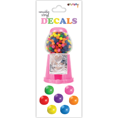 Picture of Candy Gumballs Decals Small