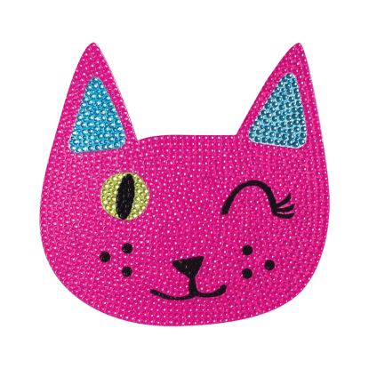 Picture of Winking Cat Rhinestone Decals