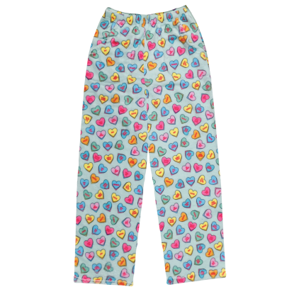 Picture of Candy Hearts Plush Pants