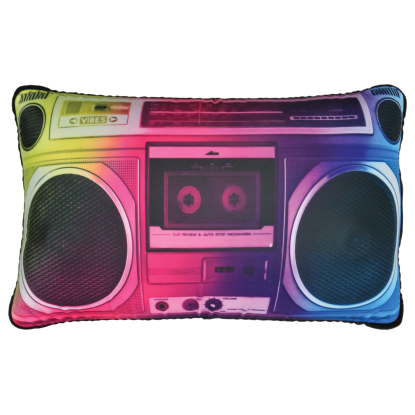Picture of Photoreal Boombox Microbead Pillow