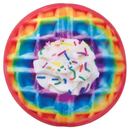 Picture of Rainbow Waffle Scented Microbead Pillow
