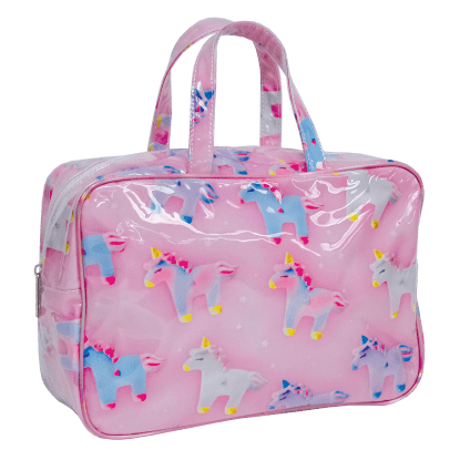 Picture of Unicorns and Stars Large Cosmetic Bag