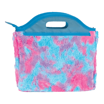Picture of Sherbet Tie Dye Furry Lunch Tote