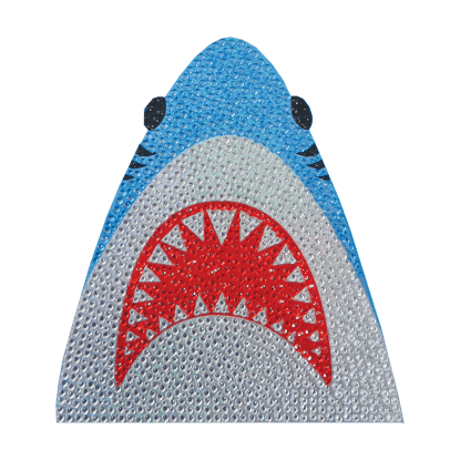 Picture of Shark Rhinestone Decals