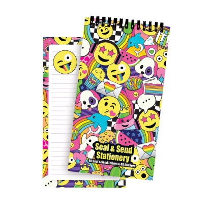Picture of Emoji Party Seal & Send Stationery