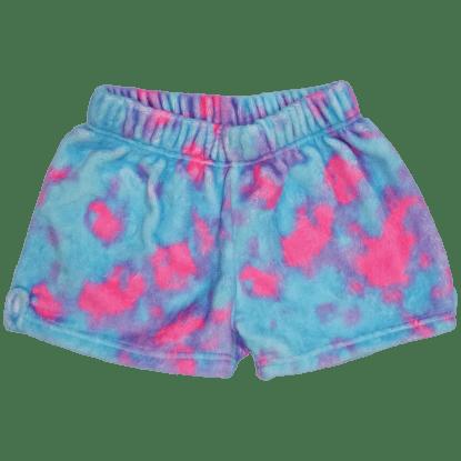 Picture of Sherbet Tie Dye Plush Shorts