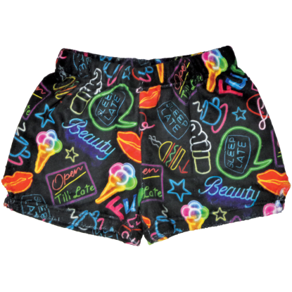 Picture of Neon Fun Plush Shorts