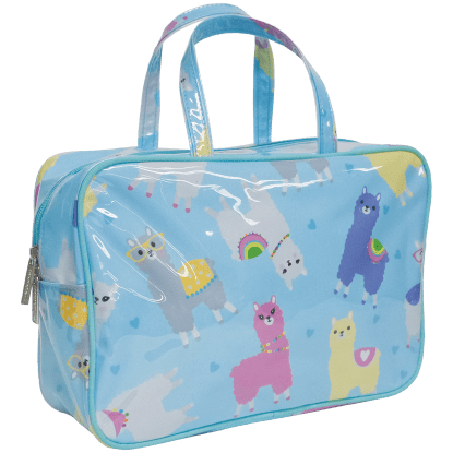 Picture of Llamas Large Cosmetic Bag