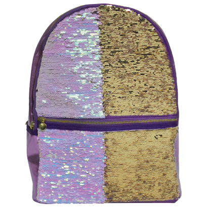 Picture of Iridescent Reversible Sequin Backpack