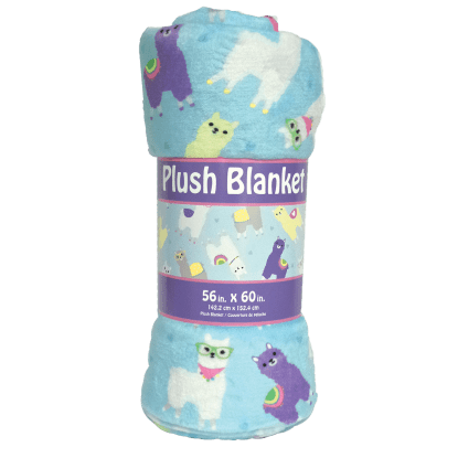 Picture of Llamas Plush Blanket