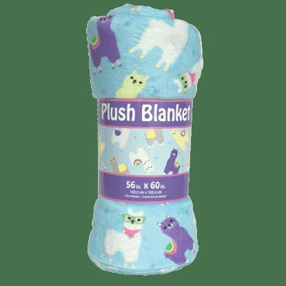 Picture of Llamas Plush Blanket