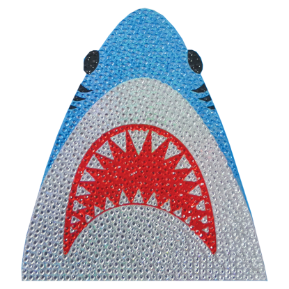 Picture of Shark Rhinestone Decal