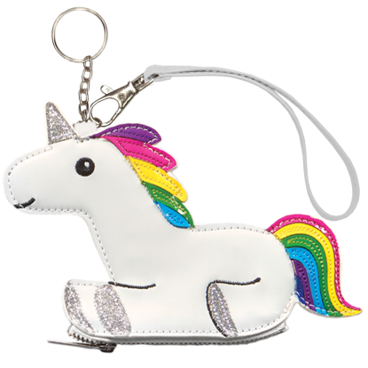 Picture of Rainbow Unicorn Purse Key Chain