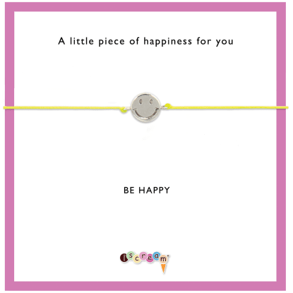 Picture of Happy Face Cord Bracelet