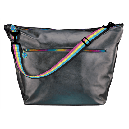 Picture of Black Metallic Weekender Bag