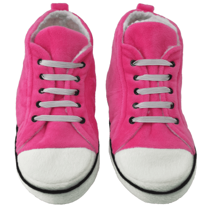 Picture of Pink Hi-Top Slippers