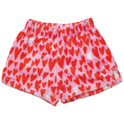 Picture of Lovin' Hearts Plush Shorts