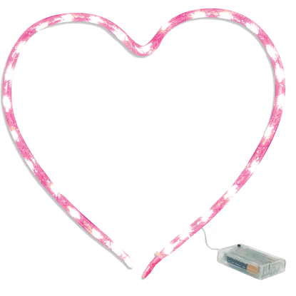 Picture of Heart Nylon Light