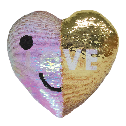 Picture of LOVE/SWAK Reversible Sequin Pillow
