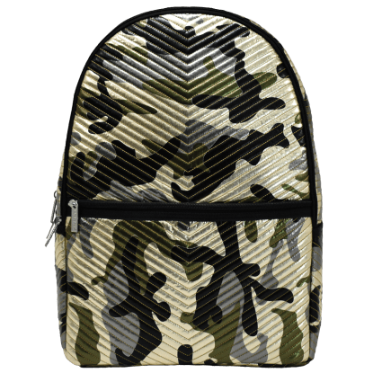Picture of Metallic Camo Chevron Backpack
