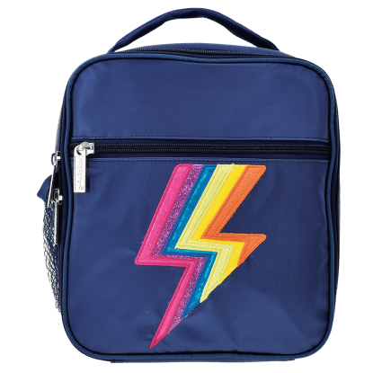 Picture of Metallic Lightning Lunch Tote