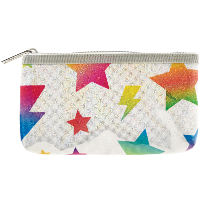 Picture of Stars and Lightning Glitter Pencil Case