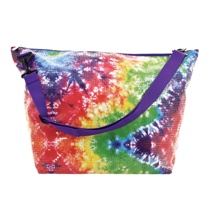 Picture of Sequin Tie Dye Weekender Bag