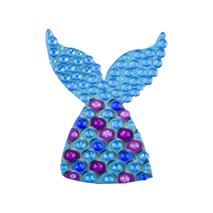 Picture of Mermaid Rhinestone Decal Small