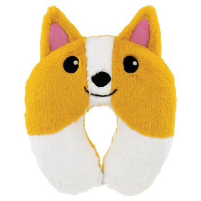 Picture of Corgi Furry Neck PIllow