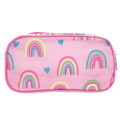 Picture of Rainbows and Hearts Small Cosmetic Bag
