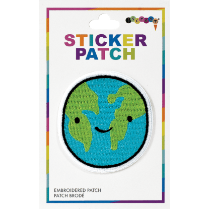 Picture of Happy Planet Embroidered Sticker Patch