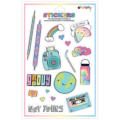 Picture of You are Amazing Vinyl Stickers