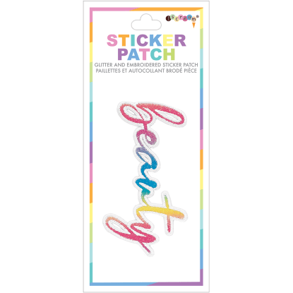 Picture of Beauty Embroidered Sticker Patch