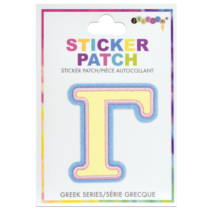 Picture of Gamma Greek Letter Sticker Patch