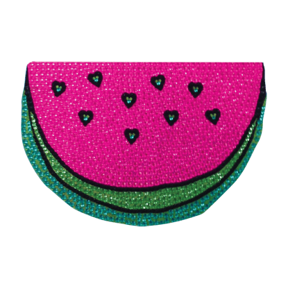 Picture of Watermelon Rhinestone Decal Large