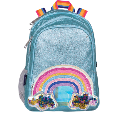 Picture of Rainbow Glitter Stars Backpack