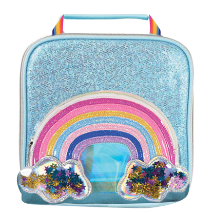 Picture of Rainbow Glitter Stars Lunch Tote