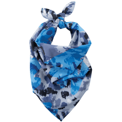 Picture of Blue Tie Dye Bandana