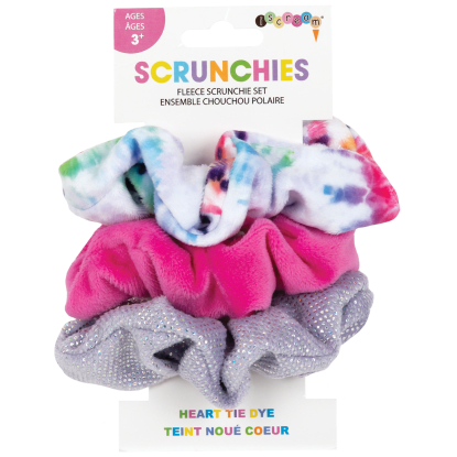 Picture of Heart Tie Dye Scrunchie Set